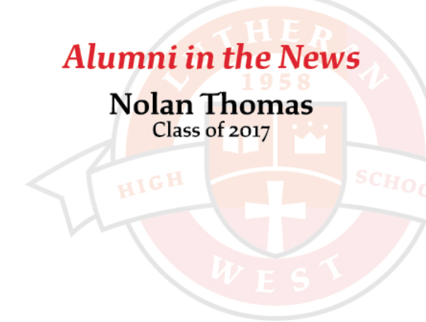 Alumni in the News: Nolan Thomas '17