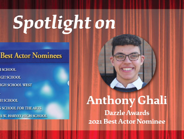 Anthony Ghali Nominated for 2021 Best Actor in Dazzle Awards