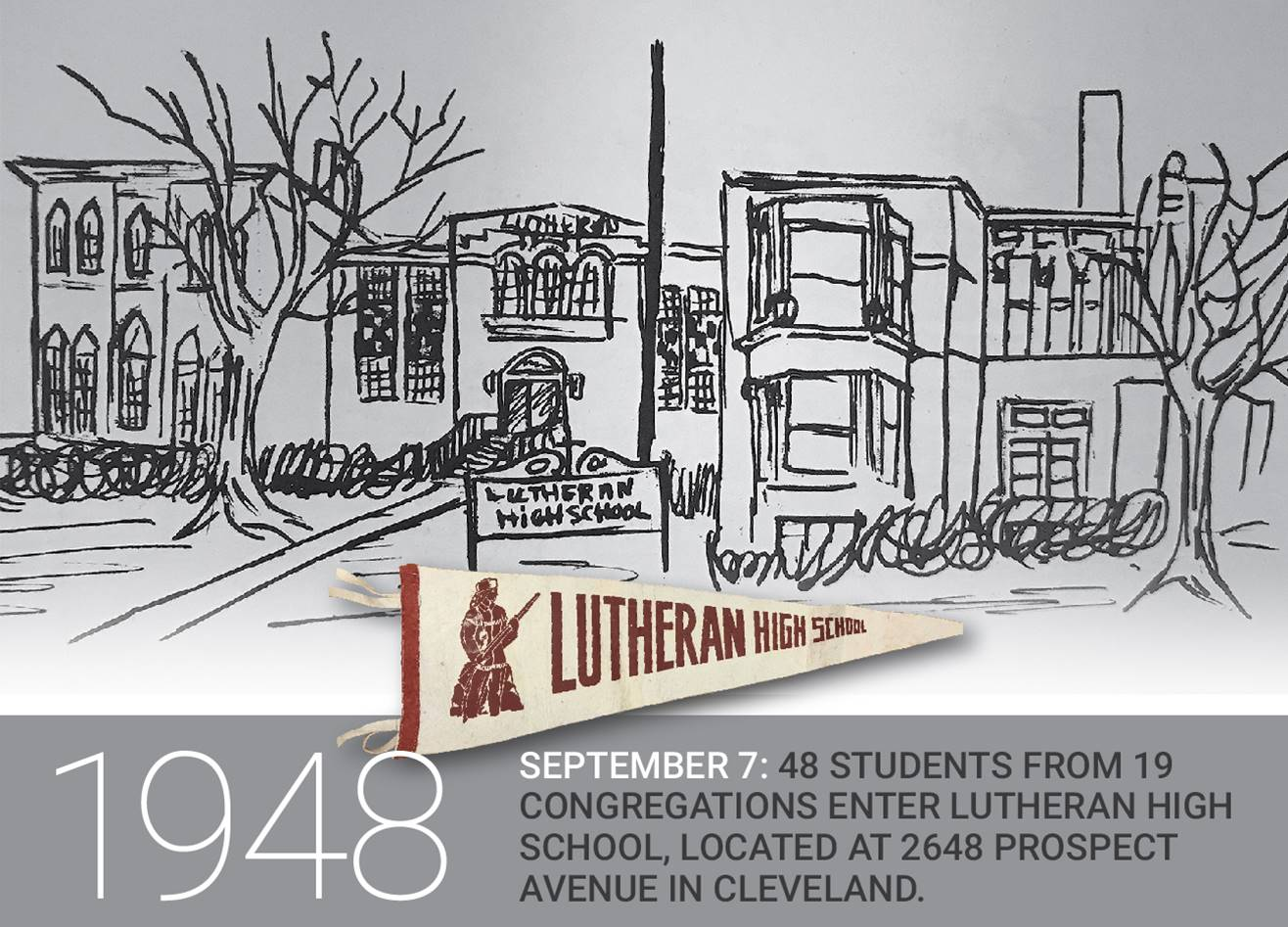 History-1948-Lutheran-High-School-Opens
