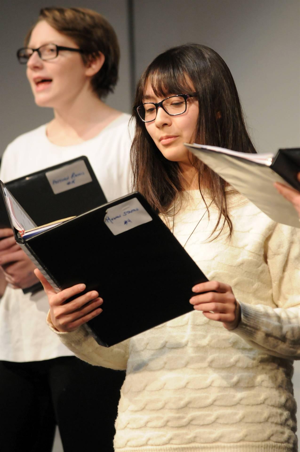 Students-Singing