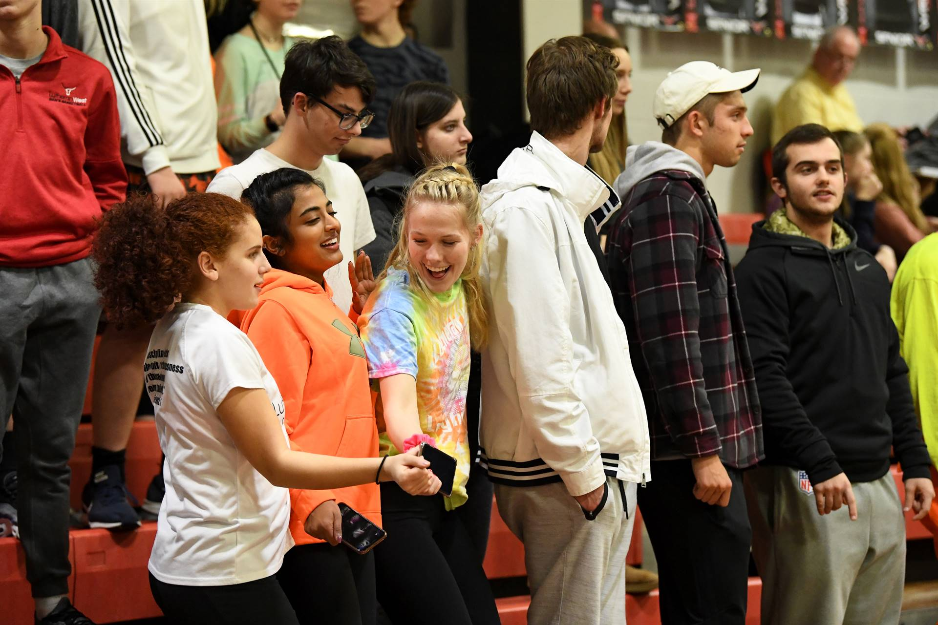 Students-at-Game