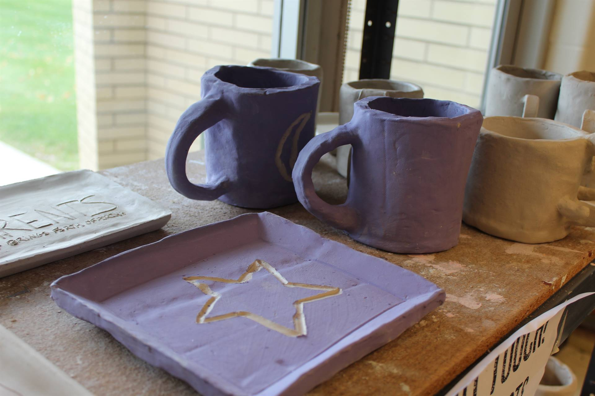 Unfired-pottery