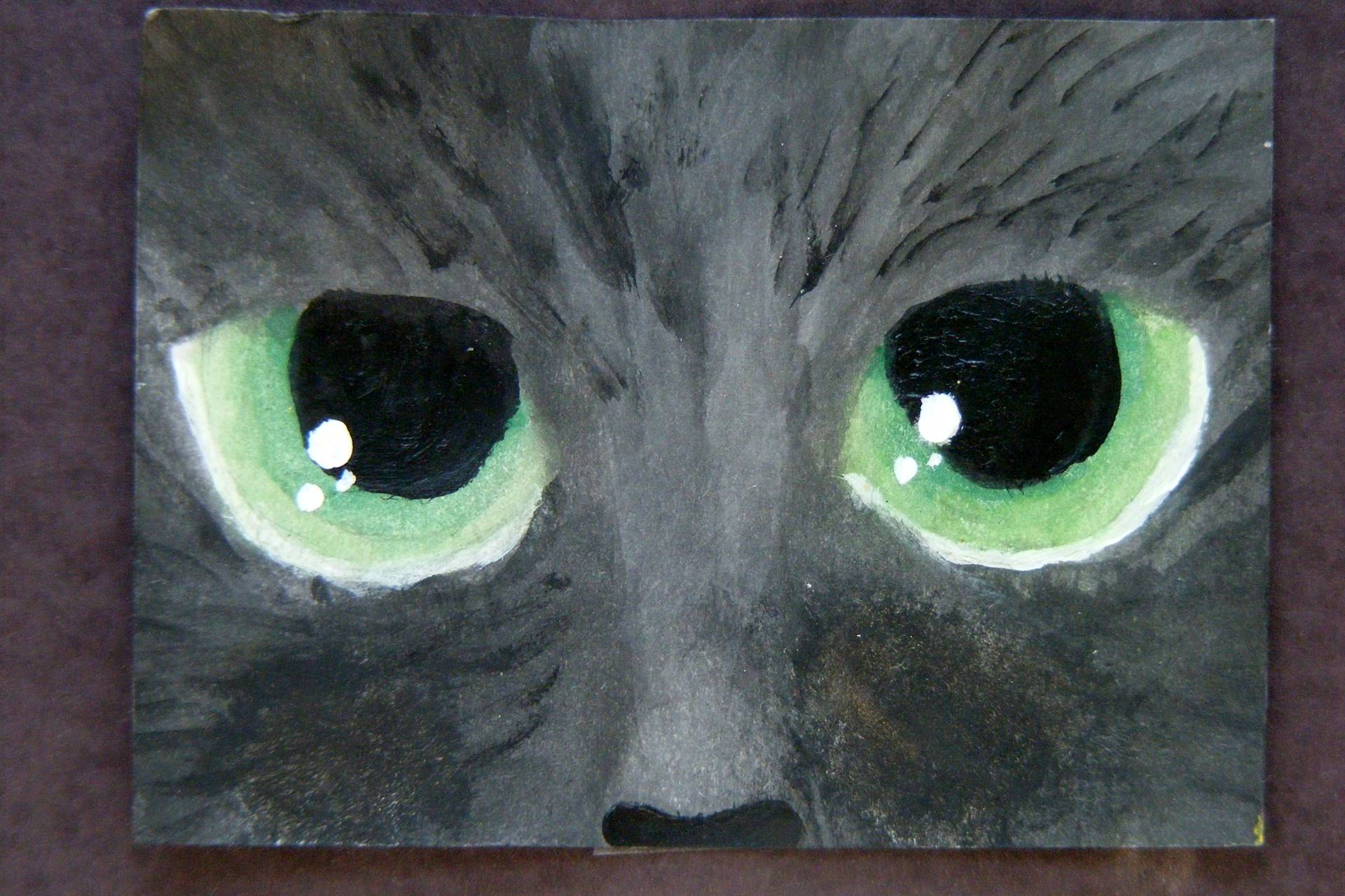 Cat-Eyes-Painting