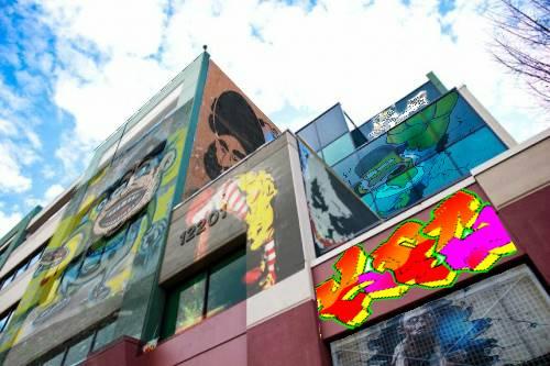 Computer-Art-Urban-Buildings