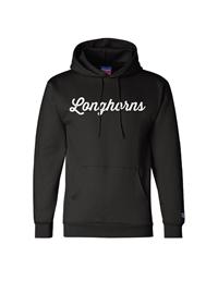 Longhorns Script Hoodie (Black)